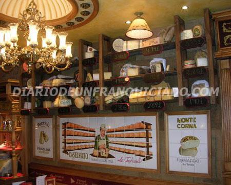detalle coleccion quesos franquicia La tagliatella