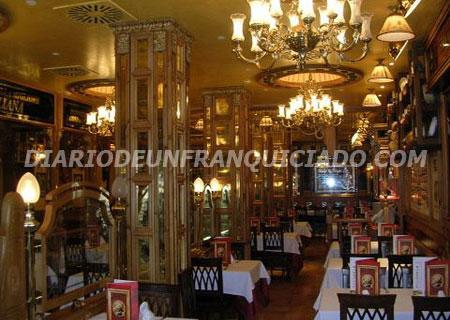 detalle salón franquicia la Tagliatella
