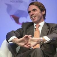 Un corrupto dando lecciones contra la corrupción: Aznar en El Salvador