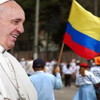 Agenda Oficial del Papa en Colombia