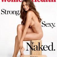 Sofía Vergara y su desnudo para 'Women's Healht'.
