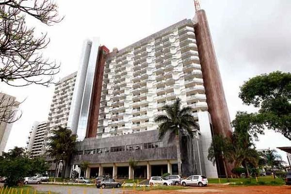 O hotel Saint Peter, em Brasília
