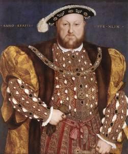 Obeso com queixo duplo por Hans Holbein