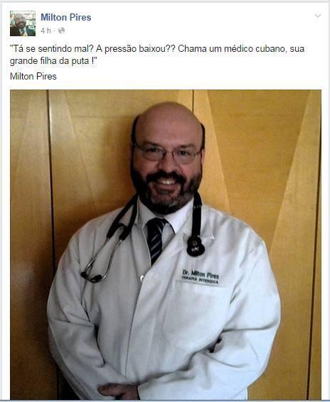 O doutor Milton
