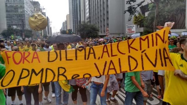 Momento de humor na Paulista