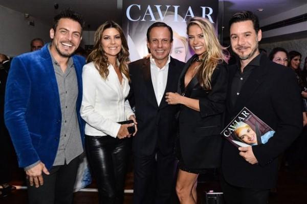 O lançamento da Caviar Lifestyle foi um sucesso
