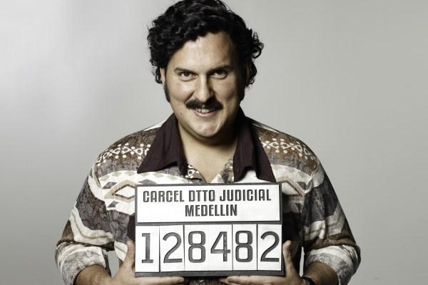 Andrés Parra como Pablo Escobar