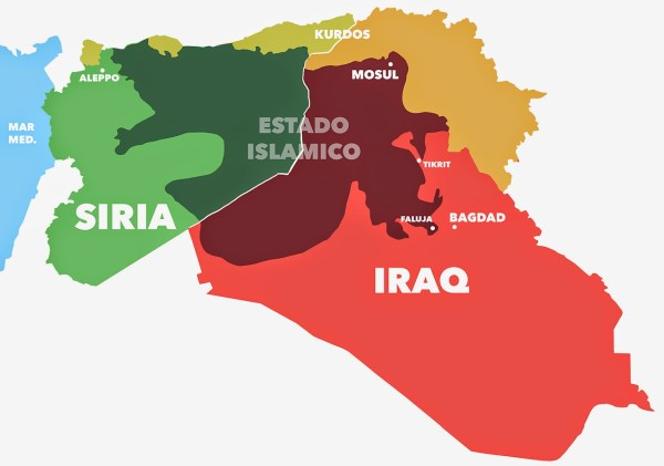 estado islamico territorio