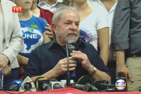 A jararaca está viva: Lula na coletiva pós-depoimento