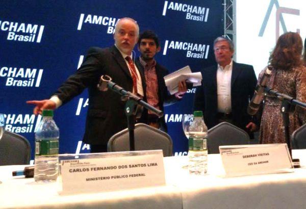 Carlos Lima, da Lava Jato, palestra na AMCHAM