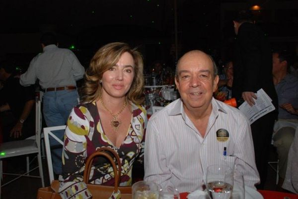 Barcellos e a mulher