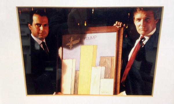 Doria tem um quadro com Trump na parede, mas nega qualquer semelhança