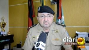 Comandante da Polícia Militar de Cajazeiras