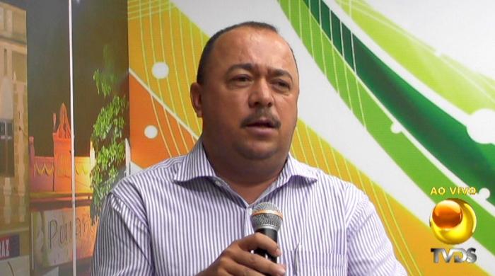 comentarista candidato prefeito oposicao apresentado convencao jarismar conv