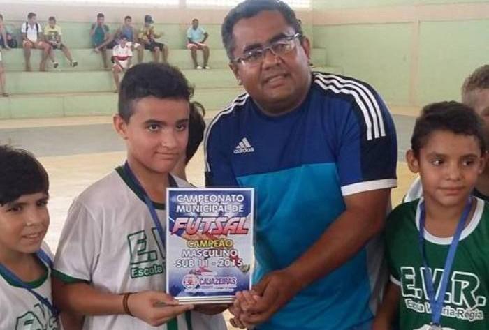 7f0b6635cc Secretaria de Esporte de Cajazeiras realiza final de Campeonato de Futsal e  parabeniza vencedores