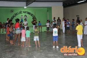 Fundação oferece aulas de capoeira