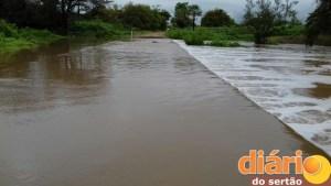 Barragem de Acauã, região de Sousa