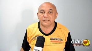 Ciloca, fundador e presidente da Barrozo Autoescola