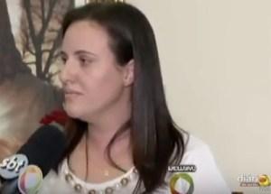 Cláudia Dia disse que se sentiu condenada pela imprensa