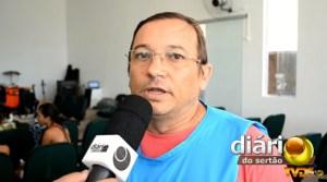 Clodoaldo Brunet na TV Diário do Sertão