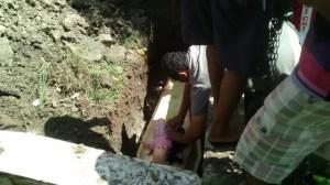Criança é sepultada em Cajazeiras