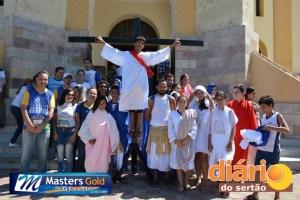 Via Sacra do Masters Gold parou em frente à Catedral Nossa Senhora da Piedade