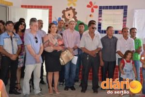 Entrega de obras na cidade de Bonito de Santa Fé