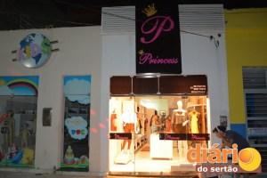 Nova loja Princess fica agora no Calçadão Tenente Sabino, no centro de Cajazeiras