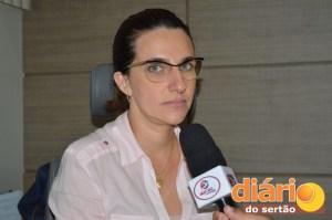 Diretora do HUJB, Mônica Paulino