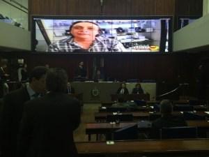 A matéria foi exibida no plenário da Assembleia Legislativa