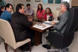 Governador Ricardo reunido com o Grupo Carajás