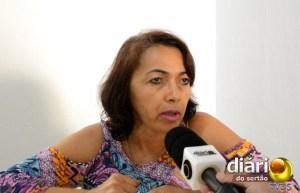 Cícera Cavalcante, presidente da Comissão de Direitos Humanos da OAB de Cajazeiras