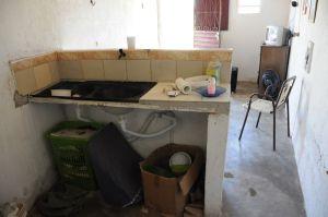 Casa da idosa que foi resgatada pela polícia