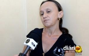 Maria José Fernandes, mãe da criança