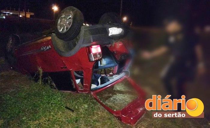 Acidente na BR 230 em Sousa (foto: Diário do Sertão)