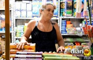 Damiana Gomes, vendedora