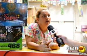 Rosângela Ricarte, vendedora