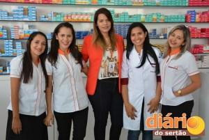 Equipe de vendedoras da Redepharma