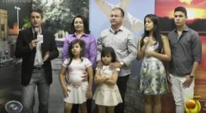 Gervazio Gomes e família no Interview