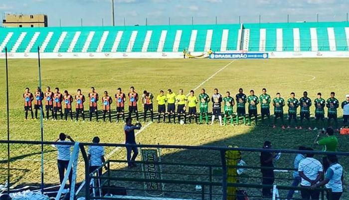 Sousa perdeu por 2 a 0 (foto: Facebook)