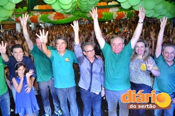 Convenção do PSB/PSD realizada em Sousa (foto: Jefferson Emmanuel)