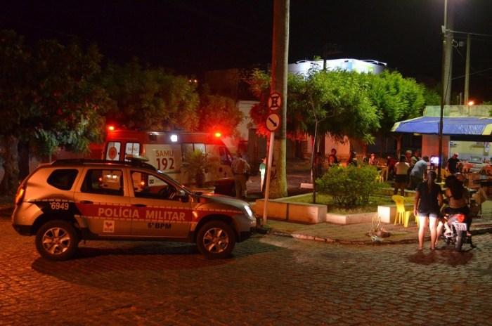 Confusão aconteceu na Praça das Palmeiras