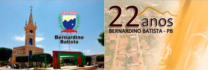Bernardino Batista comemora 22 anos d emancipação política