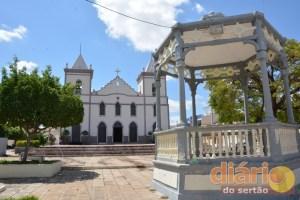 Igreja Nossa Senhora de Fátima, onde estariam enterrados os restos mortais do Padre Rolim