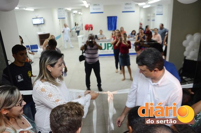 UPA foi inaugurada na cidade de Sousa (foto: Charley Garrido)