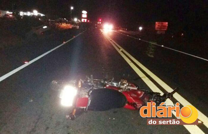 Acidente aconteceu na saída de Aparecida para Pombal (foto: Diário do Sertão)