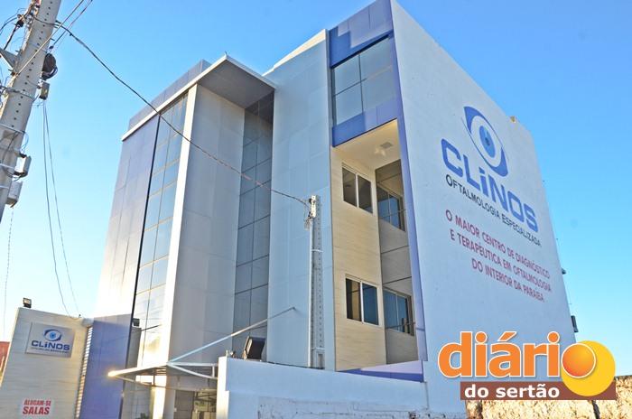 A CLINOS que fica localizada na Rua José Fagundes de Lira, no bairro Gato Preto