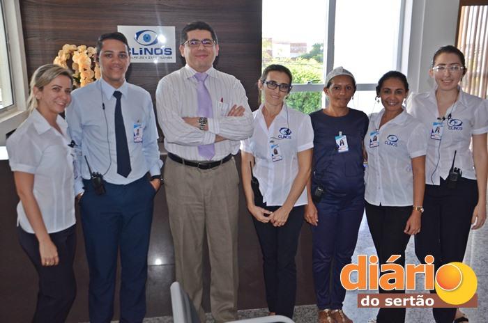 Clínica é referência no atendimento oftalmológico em todo sertão da Paraíba (foto: Charley Garrido)