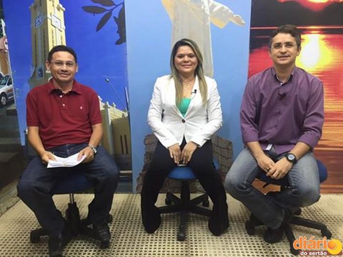 Socorro Félix foi a entrevista da Caravana da Democracia nesta terça-feira