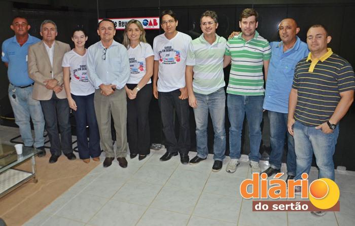 Reunião foi realizada na sede da OAB em Sousa (foto: Charley Garrido)